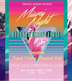 Miami Night - SASH Homecoming