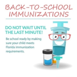 IMMUNIZATIONS FOR ALL INCOMING 7th GRADERS