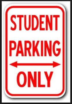 Student Parking Permits Juniors & Seniors