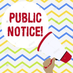 PUBLIC NOTICE: Intent to submit application for a 21st Century Community Learning Center Grant