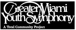 Greater Miami Youth Symphony Band Applications for 2019-2020 School Year