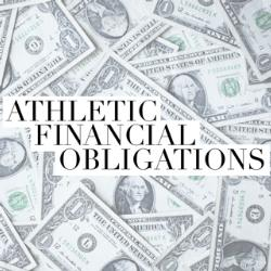 Athletic Financial Obligations